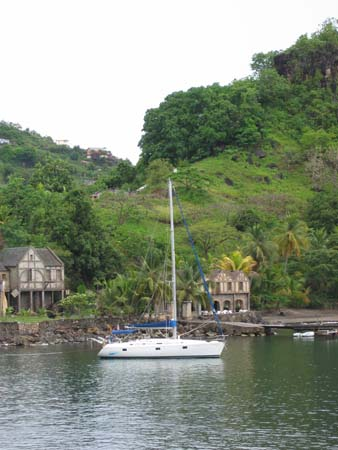 Anchorage at Wallilabou, SVG
