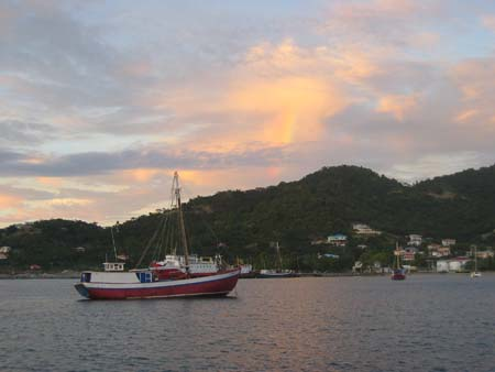 Commercial dock, Tyrel Bay, Carriacou