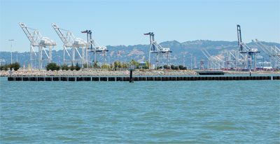Container Cranes at the Port of Oakland